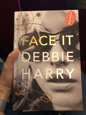 A signed copy of the memoir, Debbie Harry: Face It (Day Street)